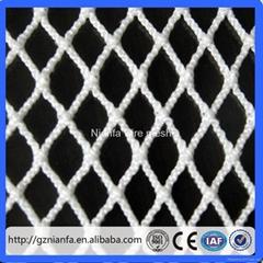 Brazil safety nets Safety HDPE Knotted Plastic Net(Guangzhou Fact