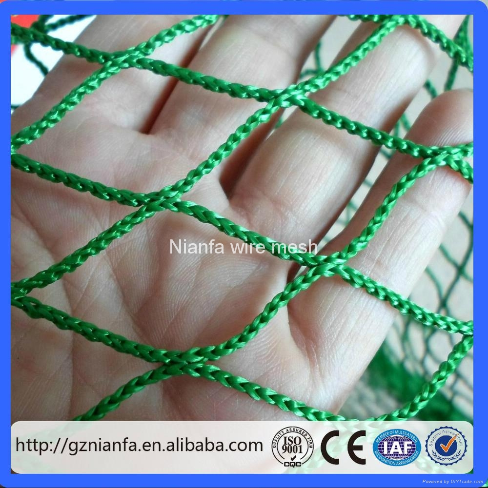 Brazil safety nets Safety HDPE Knotted Plastic Net(Guangzhou Fact 4