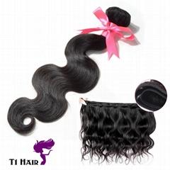 T1 Hair  Grade 7A 100% Unprocessed Brazilian Virgin Human Hair 3 Bundles