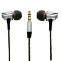 2016 High Quality Metal Earphone With Mic Sound Stereo IN-Ear Wired Earphones