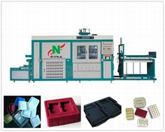 Fully automatic disposable plastic cup making machine vacuum form machine