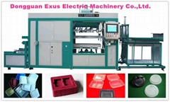 Intelligent system pp plastic tray cup lid forming machine