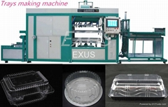 Intelligent High Speed Automatic Plastic tray making Machine