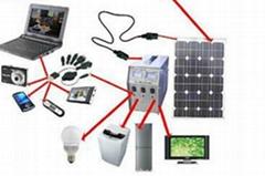 off-Grid Solar Energy Power Generation