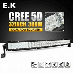 New Product High Intensity 5D 50inch 500W Offroad LED Light Bar for Jeep SUV