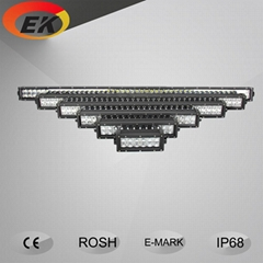 EK High intensity Automotive Dual row 7inch 36w 12v 24v DC led light bar