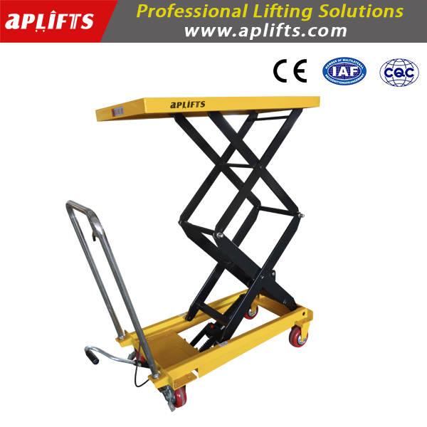 Double Scissor Lift Table 1