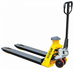 2ton 2000kg 4400lbs Scale Pallet Truck Easy and Simple to Handle