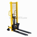 Hydraulic Hand Forklift Stacker with Foot Pedal for Lifting Manual Stacker