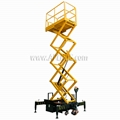 Scissor Lift Type Work Platform Truck with SGS