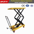China Manufacure 800kgs Double Scissor Lift Table Truck