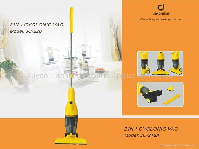 2 in 1 Cyclonic Vac JC-226 1