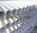 ISO manufacture PVC pipes water supply