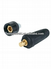 euro type welding Cable Connector/ DKJ cable connector