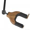 Auto Lock Net Wall Hanger Type Wooden Guitar Hanger 3