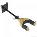 Auto Lock Net Wall Hanger Type Wooden Guitar Hanger 1