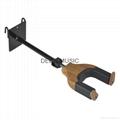 Auto Lock Net Wall Hanger Type Wooden Guitar Hanger 2