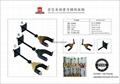 Auto Lock Net Wall Hanger Type Wooden Guitar Hanger 5