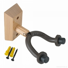 Real Solid Wood  Guitar Hanger Suitable for Violin and  Ukulele