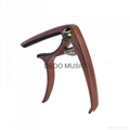 latest  guitar capo wooden model with