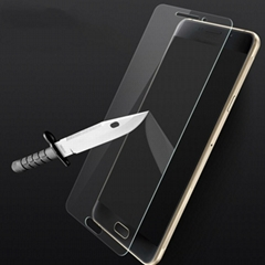 2016 Front A3 A5 A7  Tempered Glass Screen Protector For Samsung galaxy A9 pro