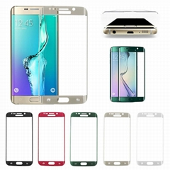 Wholesale Screen Protector For Samsung Galaxy S6 Edge S7 Edge Tempered Glass