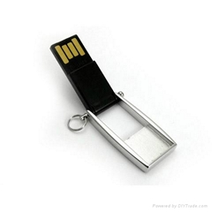 Hot Sale Mini Swivel USB Flash Memory Stick Custom-made Logo