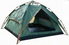 自動雙層沙灘帳篷--T002