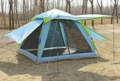 自動雙層野營帳篷--T006