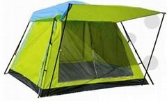 自動雙層野營帳篷--T062