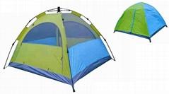 自動雙層野營帳篷--T001