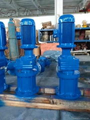 universal top or side mounted agitator mixer