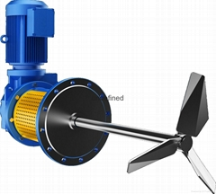 Stainless Steel Side mounted agitator mixer