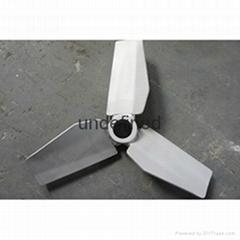 three bladed agitator impeller