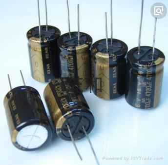 汽車喇叭音響專用進口ELNA鋁電解電容 1