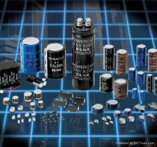 汽車喇叭音響專用進口ELNA鋁電解電容 2