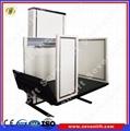 Electric Hydraulic Wheelchair Lift : Skyjack scissor adjustable work platform sevenlift
