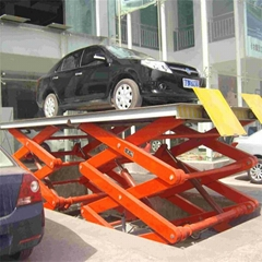 garage equipment used car scissor lift for sale