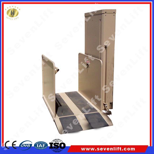 Hydraulic Vertical Lift : M vertical hydraulic wheelchair lift shandong sevenlift