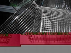 Stainless Steel Welded Wire Mesh baskets are manufactured with stainless steel,