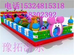 充气蹦蹦床玩具