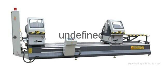 CNC Double head saw for aluminum profiles 1
