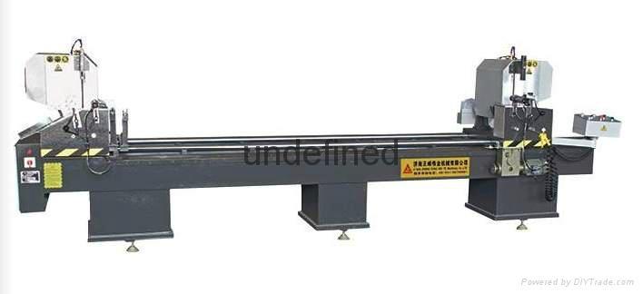 CNC Double-head cutting saw for PVC Door& Window 1