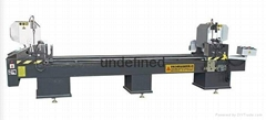 CNC Double-head cutting saw for PVC Door& Window