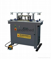 Punching machine for aluminum window-door