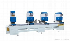 Four seamless welding machine