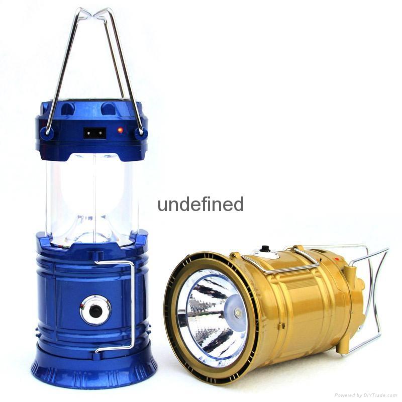 LED太陽能馬燈野營燈 4