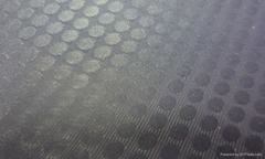 绿色双面贴合PVC夹网布沙发面料沙发用夹网布