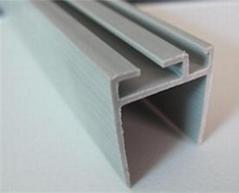 Plastic extrusion Profiles Type upvc extrusion profile /pvc profile for windows