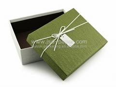 Luxury wedding paper gift box packaging